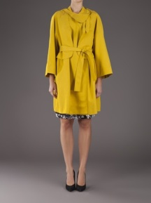 CARVEN Swing Trench Coat, $1235