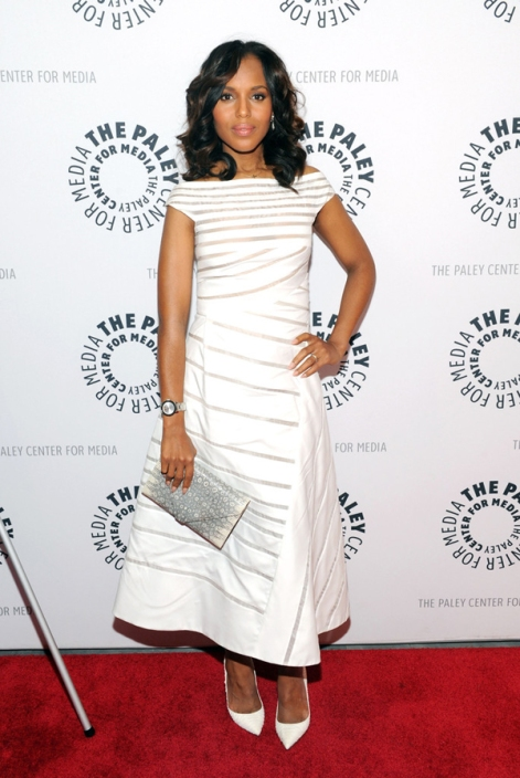Kerry-Washington-Paley-Center-White-J-Mendel-Dress