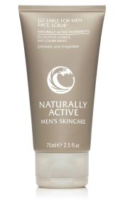 liz earle for men face scrub