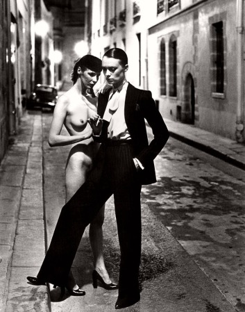 helmut newton yves saint laurent