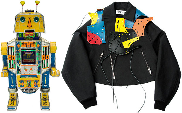 Loewe and meccano collaboration