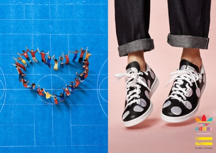 Adidas and Pharrell williams polka dots big collection 14