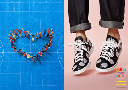 Adidas and Pharrell williams polka dots big collection 14