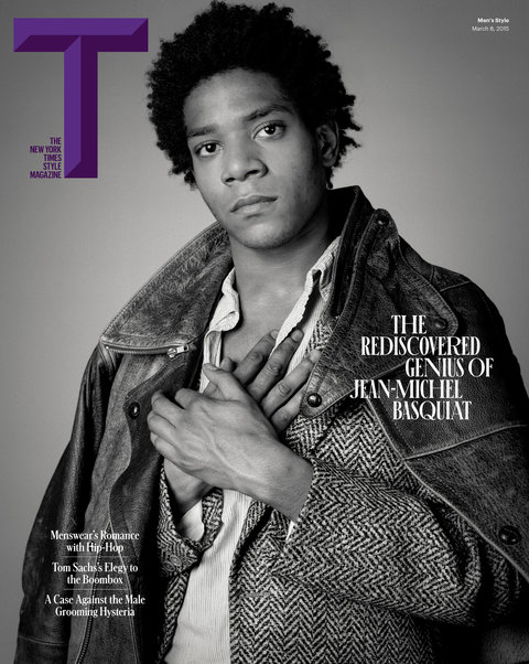 Times Style Mag: Jean-Michel Basquiat Covers T- The New York Times Style