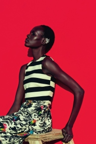 mixed message Ajak Deng by julia noni for neiman marcus 11