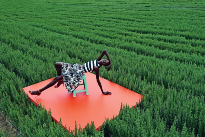 mixed message Ajak Deng by julia noni for neiman marcus 18