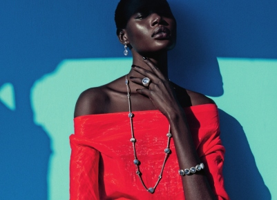mixed message Ajak Deng by julia noni for neiman marcus 2