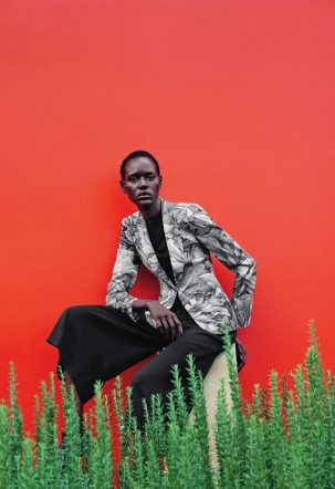 mixed message Ajak Deng by julia noni for neiman marcus 7