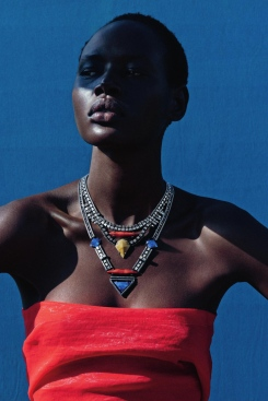 mixed message Ajak Deng by julia noni for neiman marcus 9