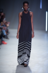 Phetogo Louwfant walking for Hannah Collection ss15