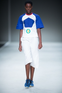 Phetogo Louwfant walking for Ralfe ss15