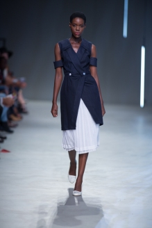 Phetogo walking for Adam and Eve ss15