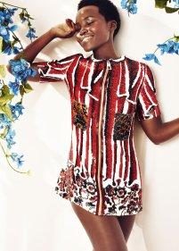 Lupita covers Harper's Bazaar May 2015 5
