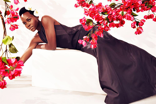 Lupita covers Harper's Bazaar May 2015 9