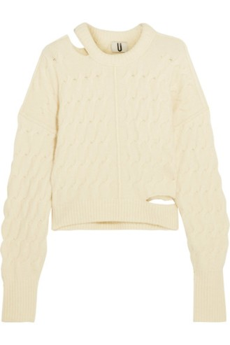 topshop-unique-cutout-cable-knit-sweater